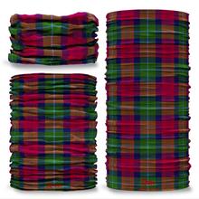 Akens Tartan Scottish Clan Seamless Tube Bandana Snood Multifunctional multiwrap Giraffe headwear