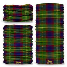 Durrie Tartan Scottish Clan Seamless Tube Bandana Snood Multifunctional multiwrap Giraffe headwear