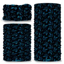 G-749 Gardening blue black Seamless Tube Bandana Snood Multifunctional multiwrap Giraffe headwear