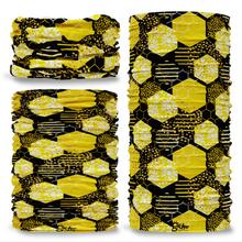 G-753 Gardening Honeycomb Tube Bandana Snood Multifunctional multiwrap Giraffe headwear