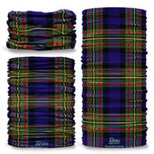 MacLellan Tartan Scottish Clan Seamless Tube Bandana Snood Multifunctional multiwrap Giraffe headwear