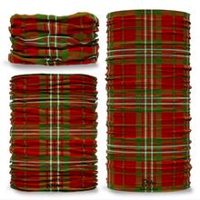 Scott Tartan Scottish Clan Seamless Tube Bandana Snood Multifunctional multiwrap Giraffe headwear