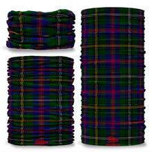 Wood Tartan Scottish Clan Seamless Tube Bandana Snood Multifunctional multiwrap Giraffe headwear