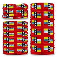 Bedfordshire County Flag Tube Bandana Snood Multifunctional multiwrap Giraffe headwear
