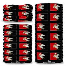 Buckinghamshire County Flag Tube Bandana Snood Multifunctional multiwrap Giraffe headwear