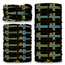 Caithness County Flag Tube Bandana Snood Multifunctional multiwrap Giraffe headwear
