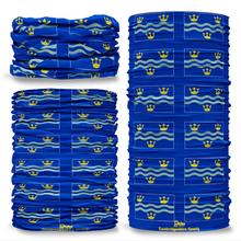 Cambridgeshire County Flag Tube Bandana Snood Multifunctional multiwrap Giraffe headwear