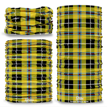 Cornish National Cornwall  District Tartan Scottish Clan Seamless Tube Bandana Snood Multifunctional multiwrap Giraffe headwear