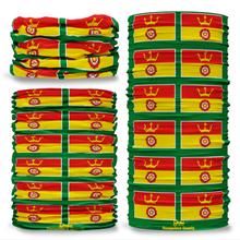 Hampshire County Flag Tube Bandana Snood Multifunctional multiwrap Giraffe headwear