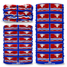 Herefordshire County Flag Tube Bandana Snood Multifunctional multiwrap Giraffe headwear