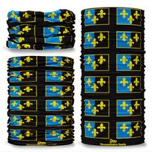 Monmouthshire County Flag Tube Bandana Snood Multifunctional multiwrap Giraffe headwear