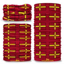 Northamptonshire County Flag Tube Bandana Snood Multifunctional multiwrap Giraffe headwear