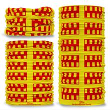 Northumberland County Flag Tube Bandana Snood Multifunctional multiwrap Giraffe headwear