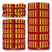 Northumbria County Flag Tube Bandana Snood Multifunctional multiwrap Giraffe headwear