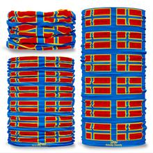 Orkney County Flag Tube Bandana Snood Multifunctional multiwrap Giraffe headwear
