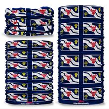 Oxfordshire County Flag Tube Bandana Snood Multifunctional multiwrap Giraffe headwear