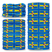 Pembrokeshire County Flag Tube Bandana Snood Multifunctional multiwrap Giraffe headwear