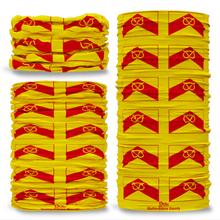 Staffordshire County Flag Tube Bandana Snood Multifunctional multiwrap Giraffe headwear