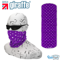 Park run jog  walk 25 Milestone Purple Tube Bandana multifunctional headwear