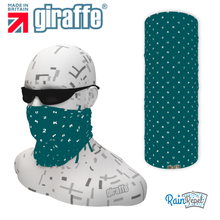 Park run jog  walk 250 Milestone Green Tube Bandana multifunctional headwear
