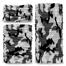 G-214 Artic Camouflage Black & White Seamless Tube Bandana Snood Multifunctional multiwrap Giraffe headwear