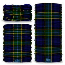 Hogarth Tartan Scottish Scotland Seamless Tube Bandana Snood Multifunctional multiwrap Giraffe headwear