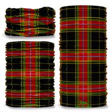 Warm Heart Tartan Scottish Scotland Seamless Tube Bandana Snood Multifunctional multiwrap Giraffe headwear