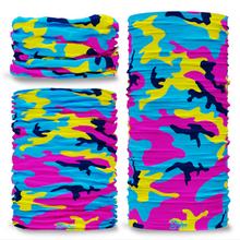 G-323 Colour twist Camouflage Seamless Tube Bandana Snood Multifunctional multiwrap Giraffe headwear