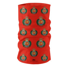 G504 Royal Engineers  Emblem Red Tube Bandana