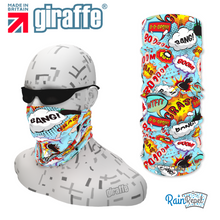 G338 Comic Design Tube Bandana