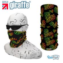 G351 Cannabis Spotty Retro Multi Colour Tube Bandana