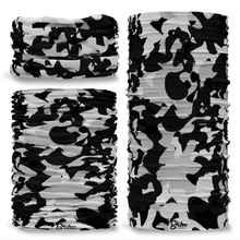 G-398 Black & Camouflage Camo Seamless Tube Bandana Snood Multifunctional multiwrap Giraffe headwear
