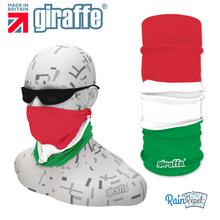 G406 Italian Flag Tricolour Green White Red Tube Bandana