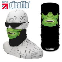 G459 Green Monster Face Mask Black Tube  Bandana