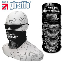 G462 Cycle Rules # rule 5 Black Tube  Bandana