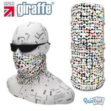 G464 Pacman Coloured  Multi-functional Tube  Bandana