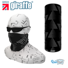 G551 Spotty Black triangle Multi-functional Tube Bandana