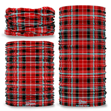 Aberdeen Tartan Scotland Seamless Tube Bandana Snood Multifunctional multiwrap Giraffe headwear