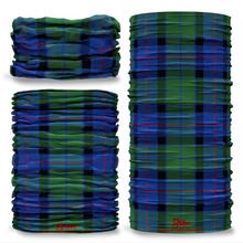 Flower Of Scotland Tartan Scottish Scotland Seamless Tube Bandana Snood Multifunctional multiwrap Giraffe headwear