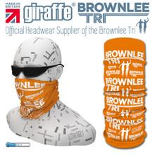 Brownlee Brothers Triathlon Orange  Multi-functional Tube Bandana