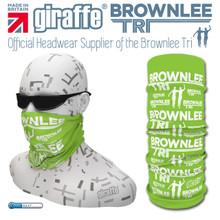 Brownlee Brothers Triathlon Green Multi-functional Tube Bandana