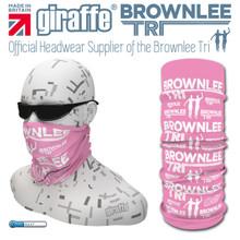 Brownlee Brothers Triathlon Pink Multi-functional Tube Bandana