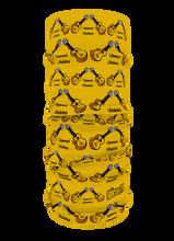Upwood Yellow - Club Design Multi-functional Bandana