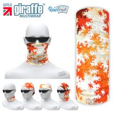 G-582 Burnt Ice Forms  - Face Mask Tube  Bandana