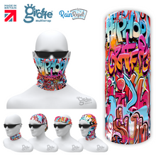 G-662 Popping Street Art Graffiti  Mask Tube  Bandana