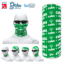 SA41 Cubs Logo Green Scout Association  Multi-functional Bandan