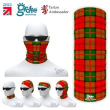 Dunbar Tartan Tartan Scotland Scottish Bandana snood Multi-functional  headwear ski bike run sport