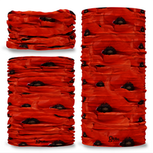 G-740 Remembrance Day Poppy 02 Multi-functional head-wear bandana tube