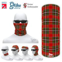 Gillespie Clan Tartan Scottish Bandana snood Multi-functional  headwear ski bike run sport