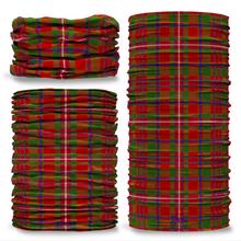 MacKinnon Tartan Scottish Clan Seamless Tube Bandana Snood Multifunctional multiwrap Giraffe headwear